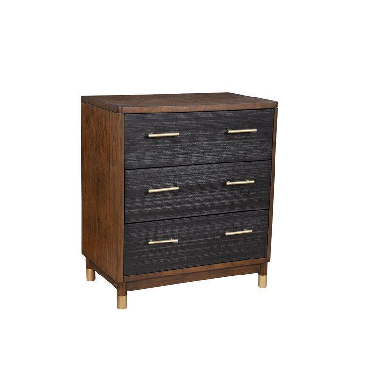 Boleynwood 3 Drawer Chest Allmodern Alpine Furniture Furniture Chest Of Drawers