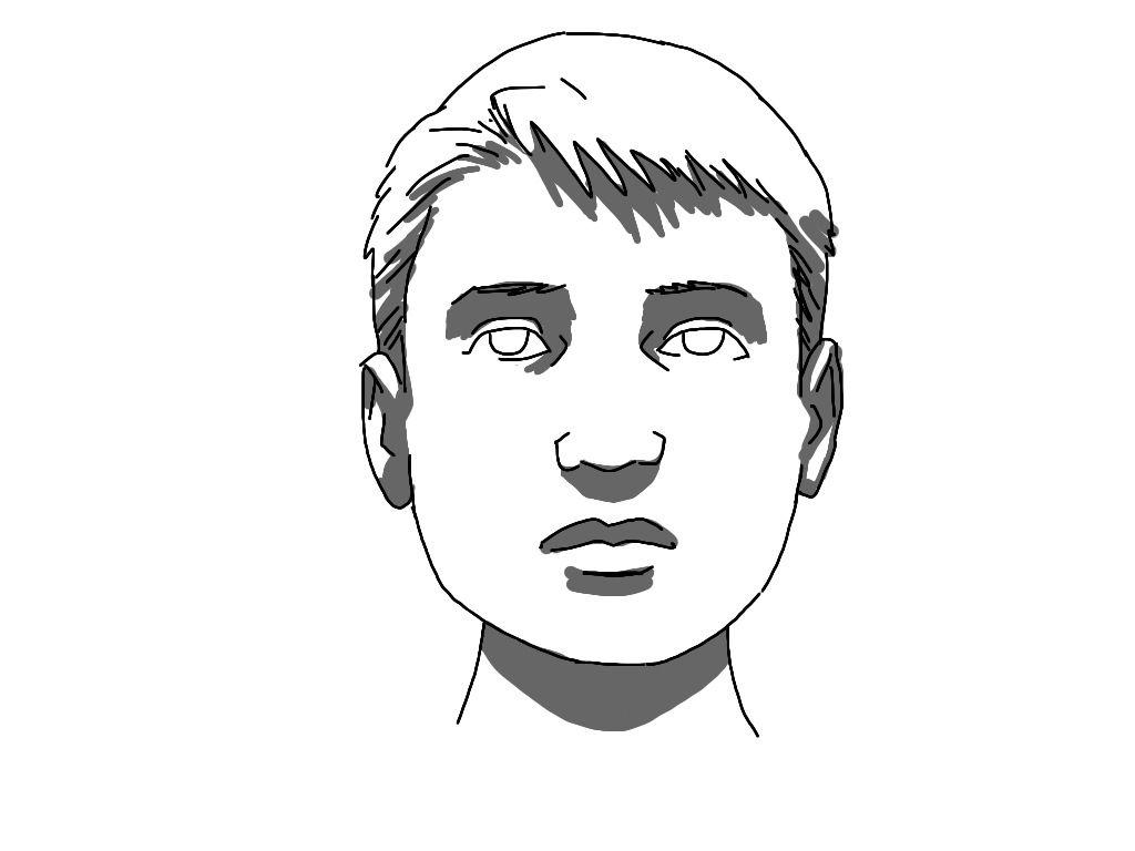 Art Tutorial Light And Shadow On A Face Comics For Beginners Cartoon Girl Drawing Art Tutorials Cartoon Drawing Tutorial