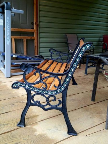 Restore A Vintage Cast Iron Garden Bench Diy Project