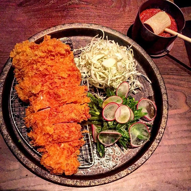 Tonkatsu crumbed pork @sosharulondon
