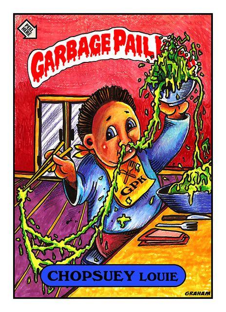 My Garbage Pail Kids Tribute Garbage Pail Kids Garbage Pail Kids Cards Pail