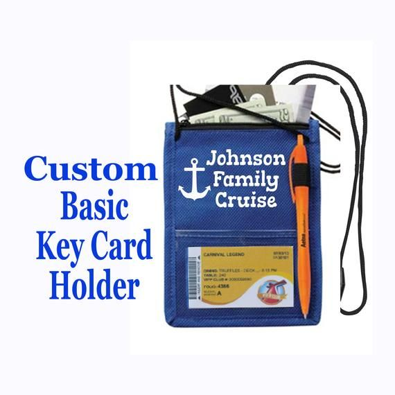 Cruise Ship Key Card Holder Custom Basic Holder Accessories Etsymktgtool Cruisecardholder Cruiselanyard Cruisekeyholder Ca With Images Cruise Johnson Family Custom