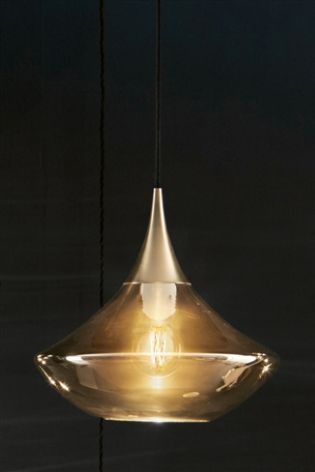 Make Your Lighting Option A Statement Piece In Living Room With Our Zhara Single Pendant