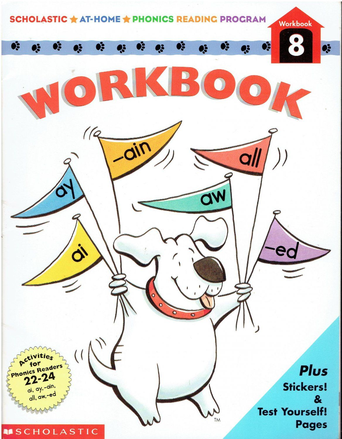 Scholastic At Home Phonics Reading Program Workbook 8 Isbn