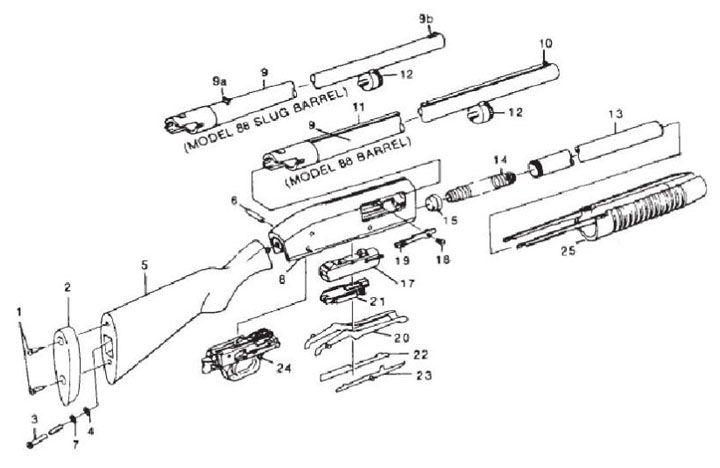 Marlin Model 88 Parts Diagram - Wiring Library •