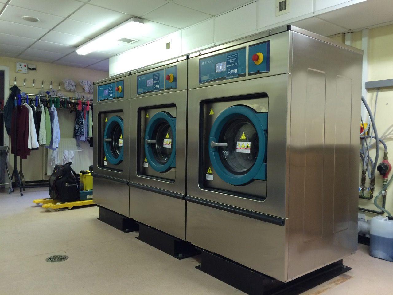 Industrial Laundry Equipment | photos | installing | Laundry equipment, Commercial  laundry, Laundry machine
