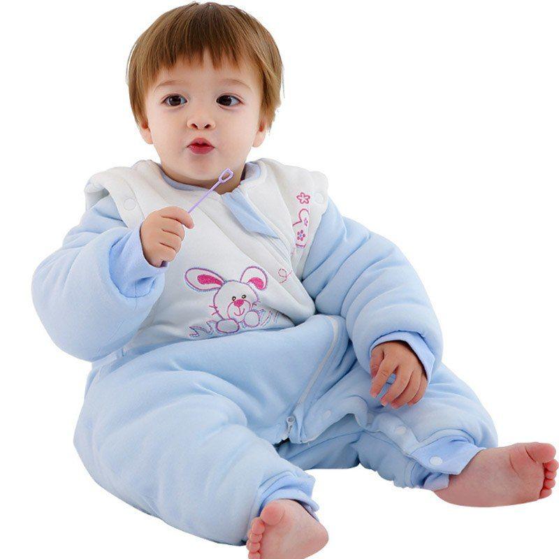 Baby Winter Sleepwear Sleeping Bag Rabbit Blanket Sleeper For Newborn Infant Toddler Boys Girls Warm Cotton Robes 3 3 Baby Winter Winter Sleepwear Baby Toddler