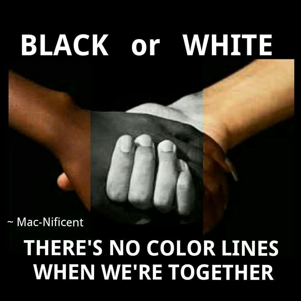 Interracial Love Quotes Black Or White  Taste The Rainbowlgbt  Pinterest  Lgbt