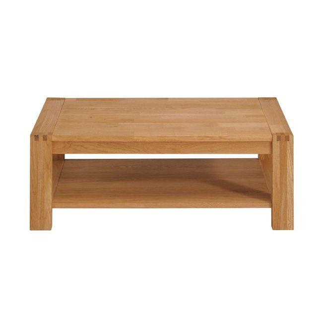 Table Basse Design Chene Massif Huile Boscus Miliboo La Redoute Mobile Table Basse Design