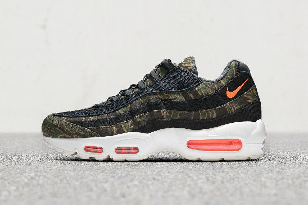 Nike Air Max 95 WIP shoes olive