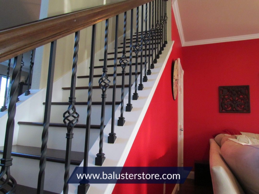 Knee Wall Stairs Stairs Stair Parts Iron Stair Railing