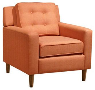 Winston Armchair, Orange