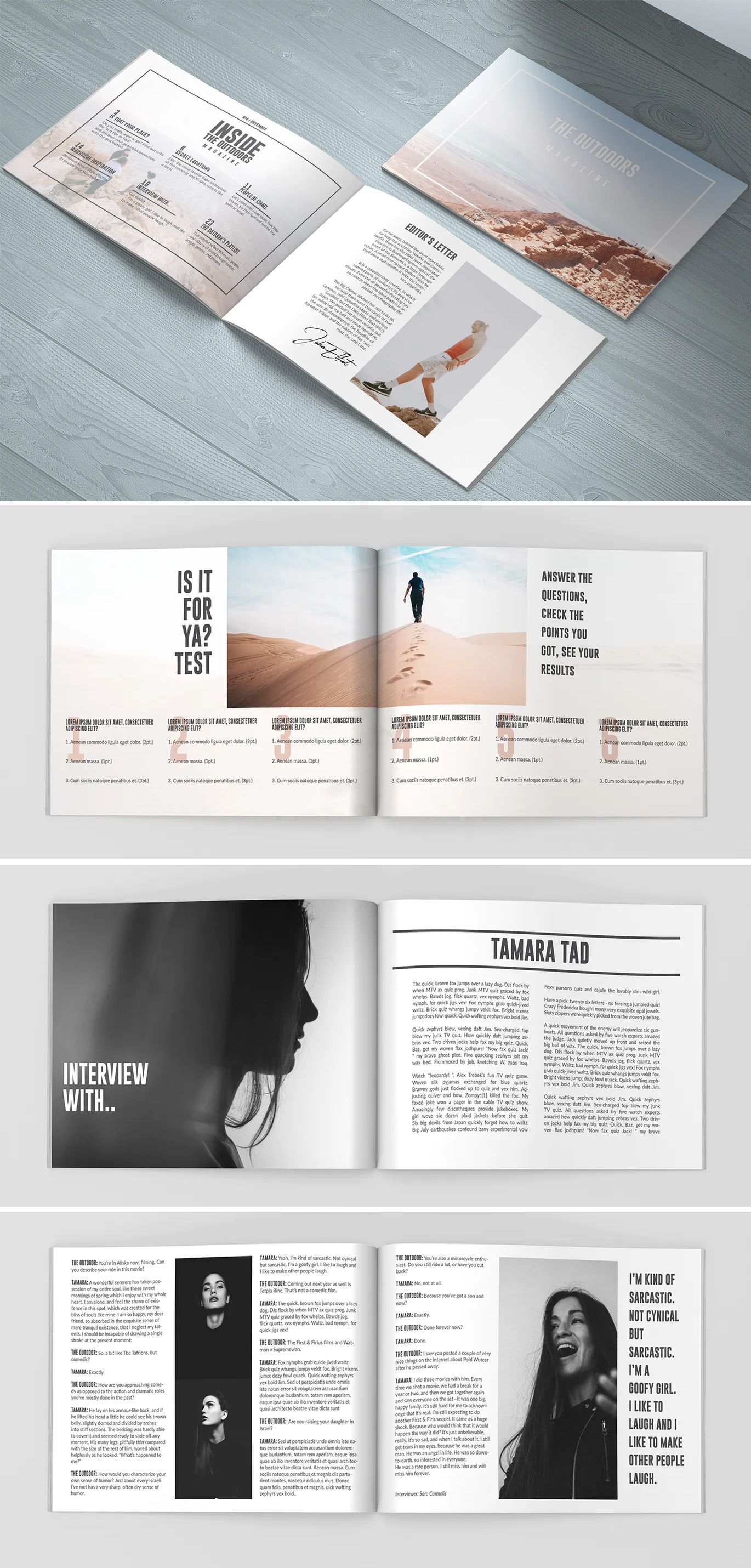Travel Magazine Landscape Layout In 2020 Travel Magazine Layout Magazine Layout Design Indesign Layout