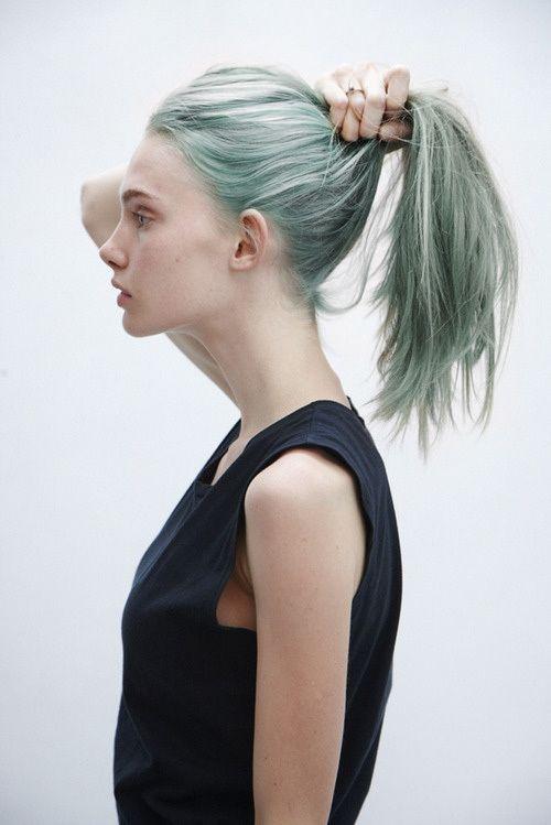 Faded Blue Hair Blue Hair Green Hair Pretty Hairstyles