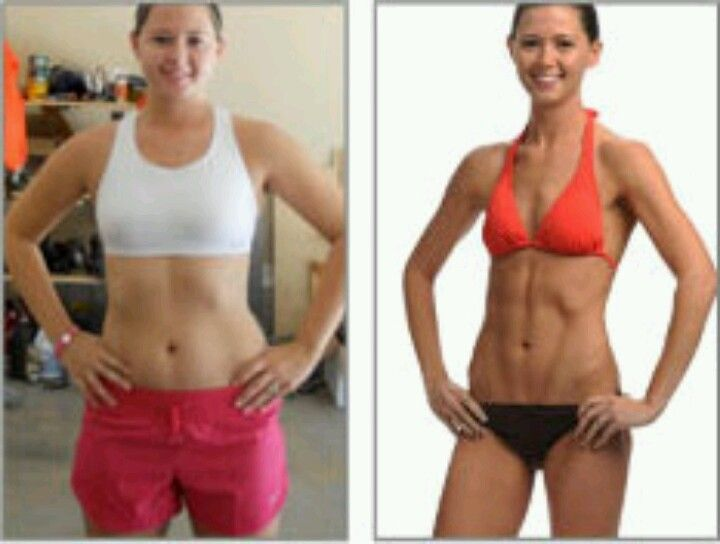 Insanity before and after beachbodycoach com/chelseabrazel