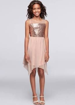 8228612cb junior bridesmaids rose gold dress - Google Search