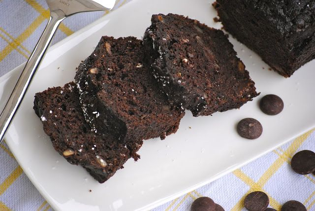Bakeaway with Me: Double Chocolate Zucchini Bread