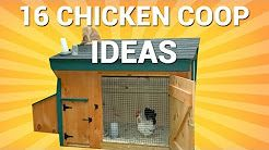Beautiful Chicken Coops Built From Our Plans