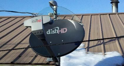 satellite dish cover no more snow for the home pinterest