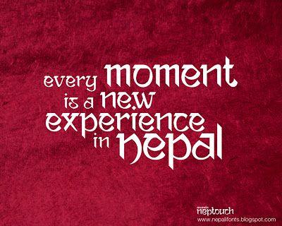 Pin By Namrata Adhikari On The Nepal I Love Nepal Free Font Fonts