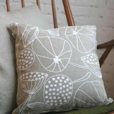 Lotta Jansdotter's Echo Cushions