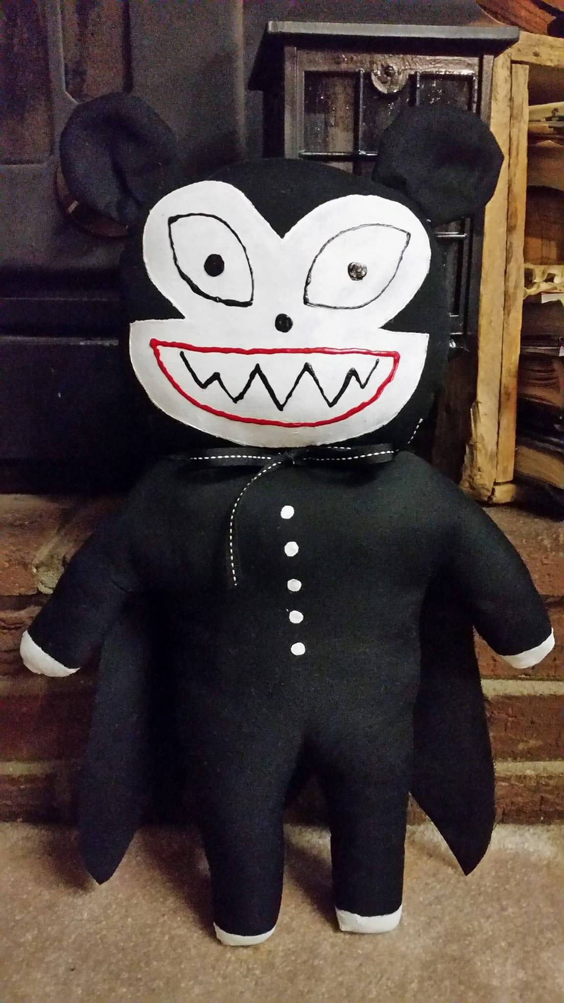 NEW! 20 inch Nightmare Before Christmas inspired Vampire Teddy by ...