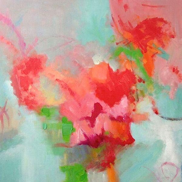 SPRING BLOSSOMS [3048923423] - $349.00   United Artworks   Original art for interior design, buy original paintings online