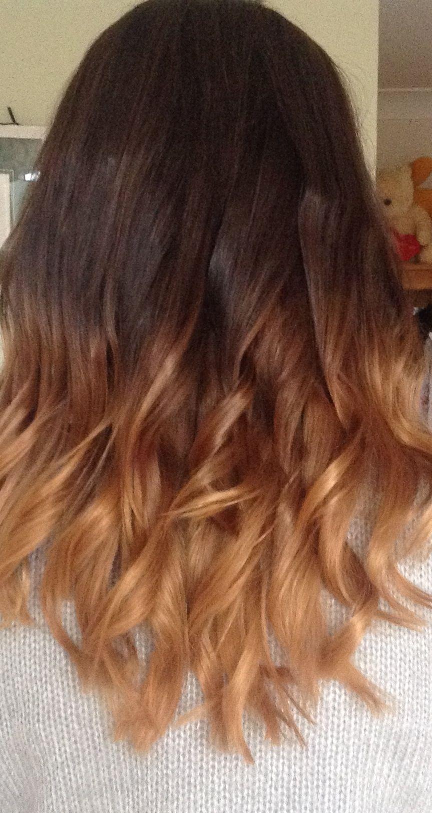 Brown Hair Dye Dip Blonde