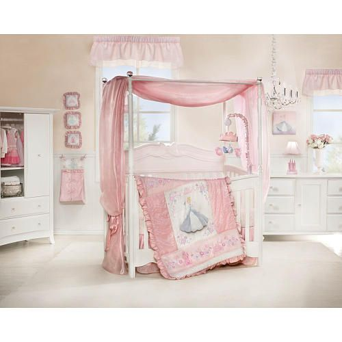 Your very own little princess will enjoy a magical nightu0027s slumber with this Disney Baby Cinderella Premier Crib Bedding Set featuring Disney Princess.  sc 1 st  Pinterest & Disney Baby Cinderella 7 Piece Crib Set | BabiesRUs | Baby Bliss ...