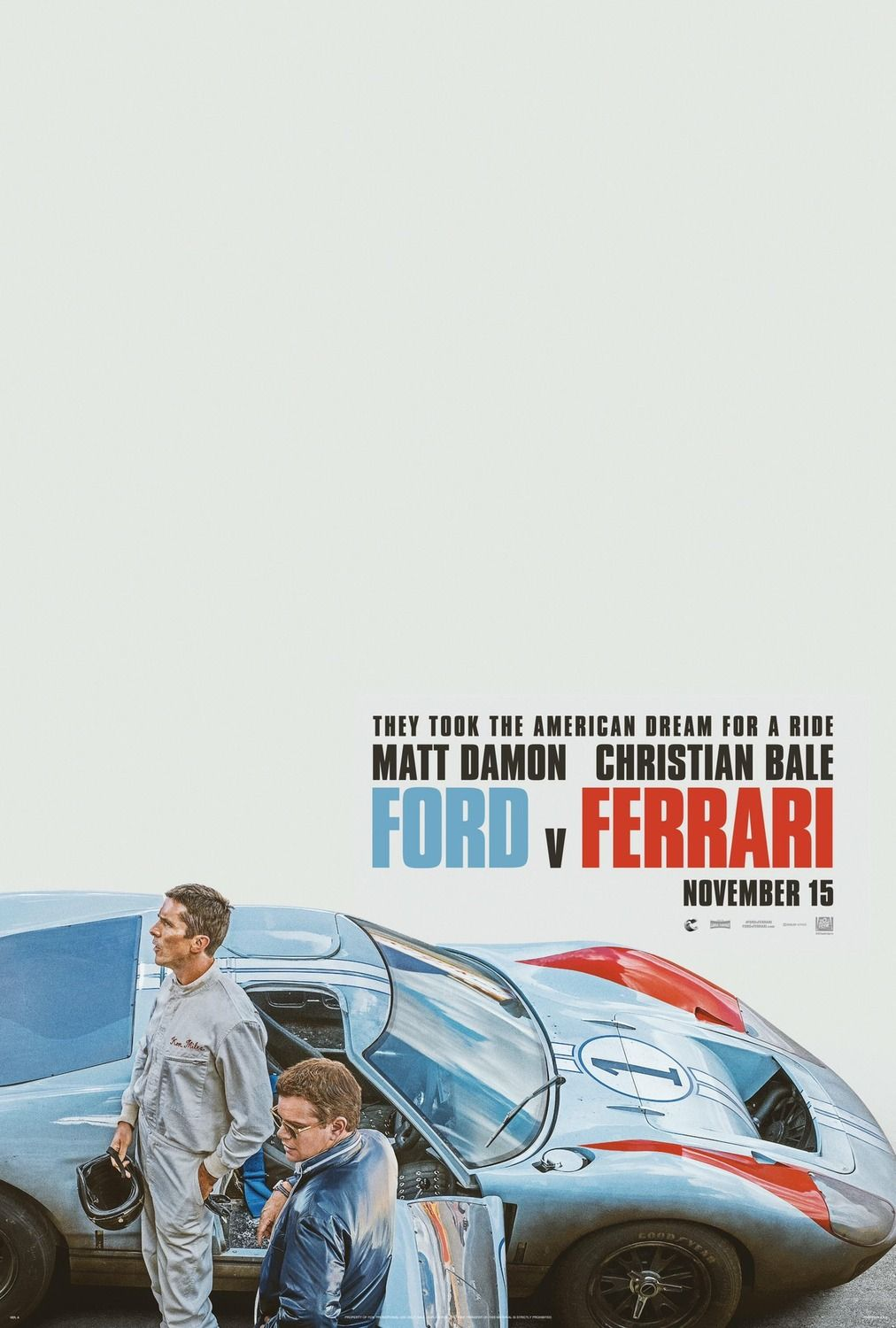 Return To The Main Poster Page For Ford V Ferrari Peliculas