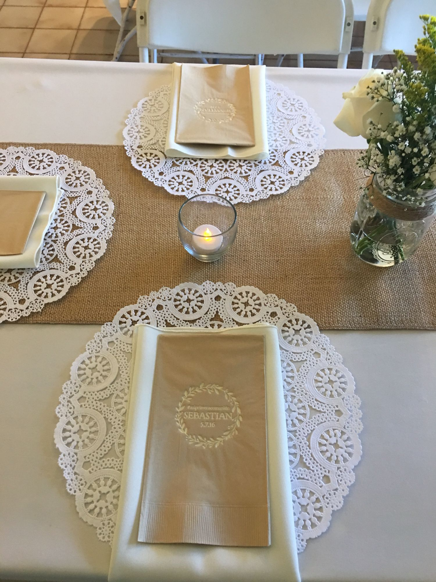 First Communion Table Mas First Communion Pinterest Communion
