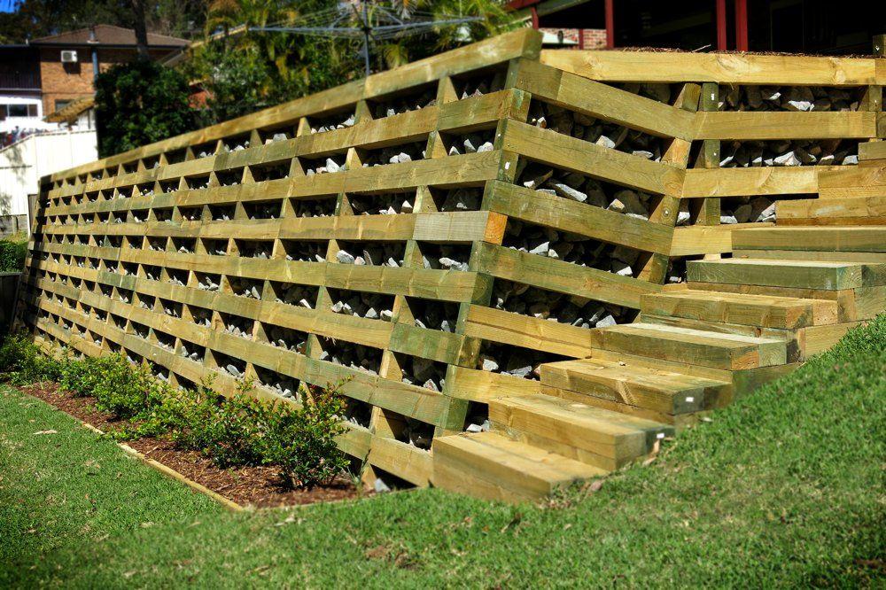 crib retaining wall google search crib wall treated on retaining wall id=23800
