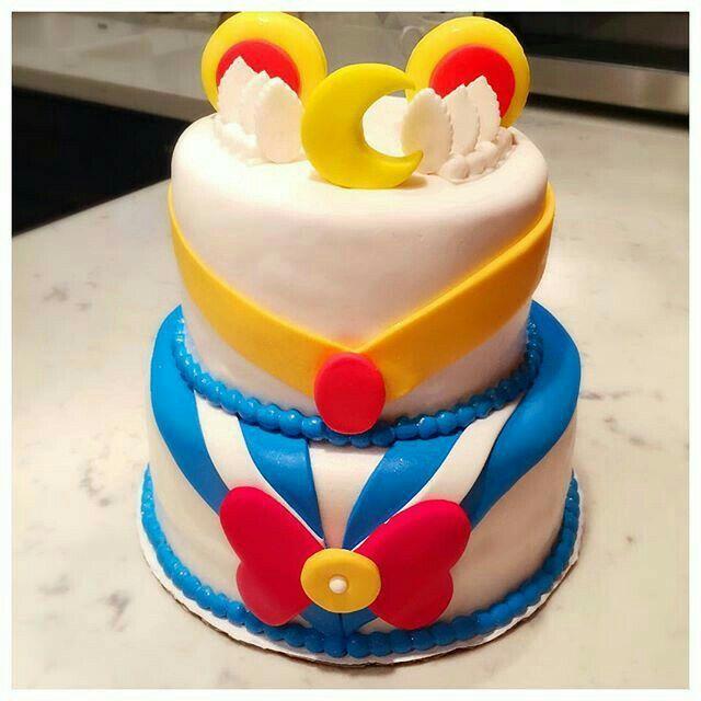 Lindo pastel de Sailor Moon 😀