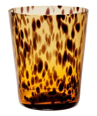Take a look at this Safari Short Drinking Glass - Set of Four by Home Essentials and Beyond on #zulily today!