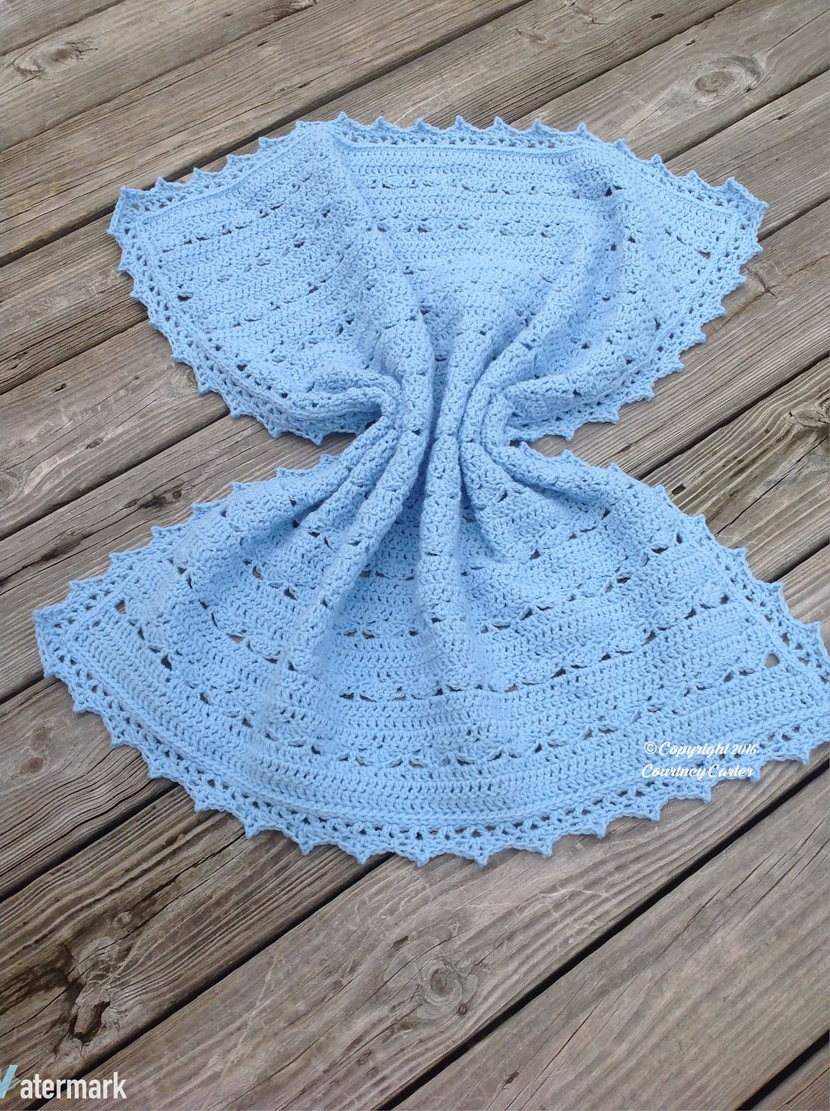 Simply Stunning Baby Blanket Yarnalcoholic And Proud Baby
