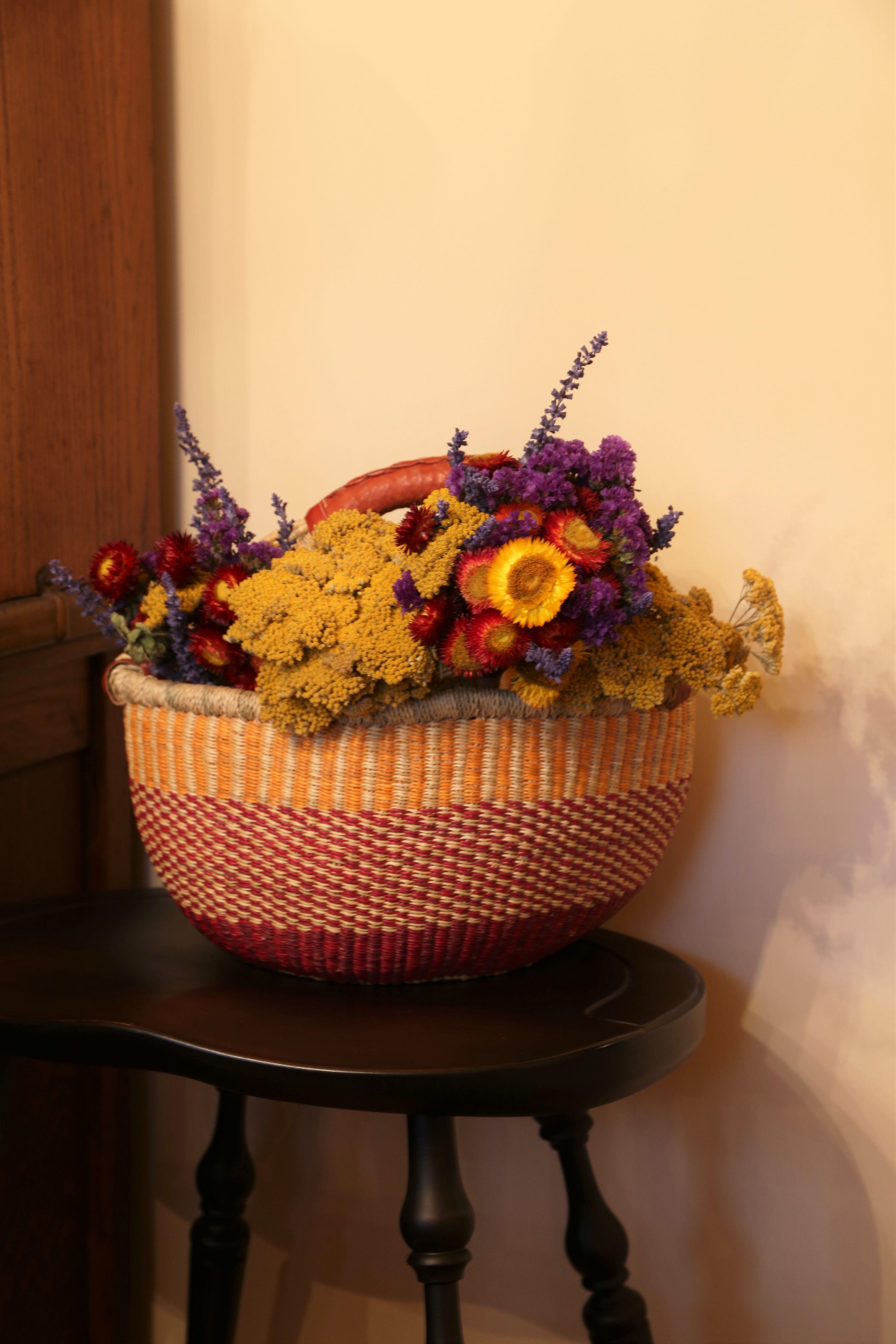 Fair Trade - Handmade - Bolga Basket from Ghana