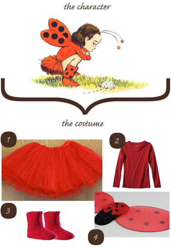 Halloween Costume Ladybug Girl Josie\u0027s Big Girl Room Pinterest