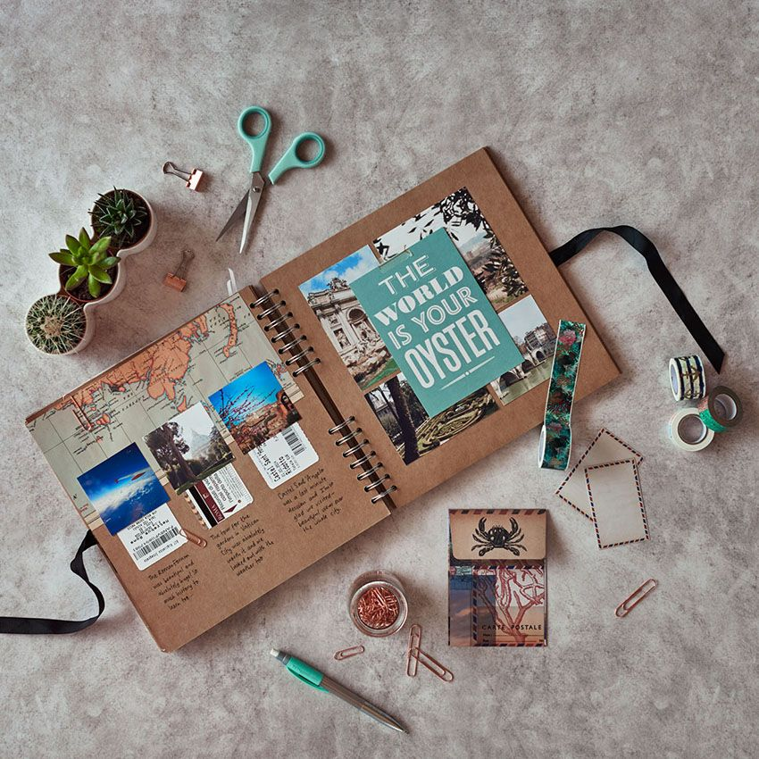 34 gift ideas for people who travel learn how to make your scrapbooking pages stand out at one - Scrapbook ideen ...