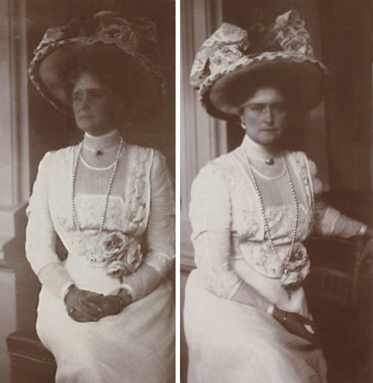 Alexandra Feodorovna, Tsarina of Russia, 1910. edwardianfaces at tumblr