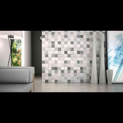 Carrelage Sol Ou Mur Style Ancien Provenza Gris 44x44 Cm 2 74m