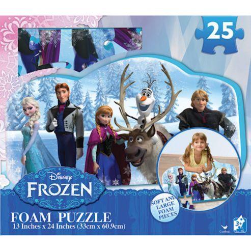 Casse-tête puzzle en mousse Frozen , 25 pièces, 3+ ans. 16.99$  Disponible en boutique ou sur notre catalogue en ligne. Livraison rapide au Québec.  Achetez-le info@laboiteasurprisesdenicolas.ca