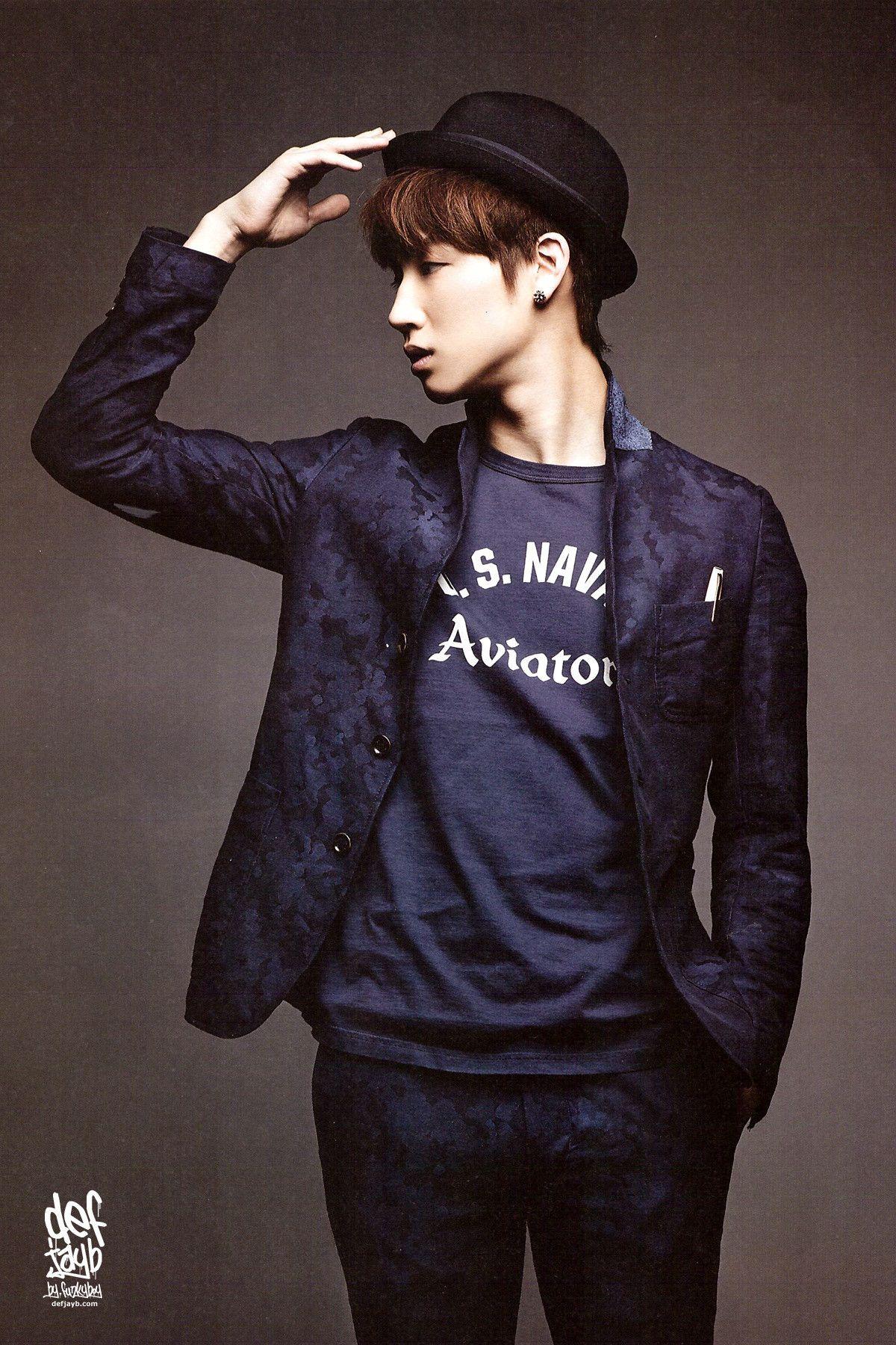 JB = 임재범 | Navy Camo