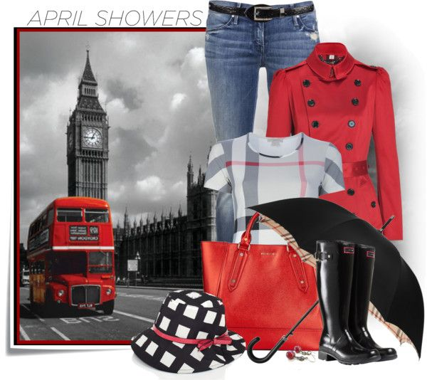 """""""April Showers"""" by johnna-cameron on Polyvore"""