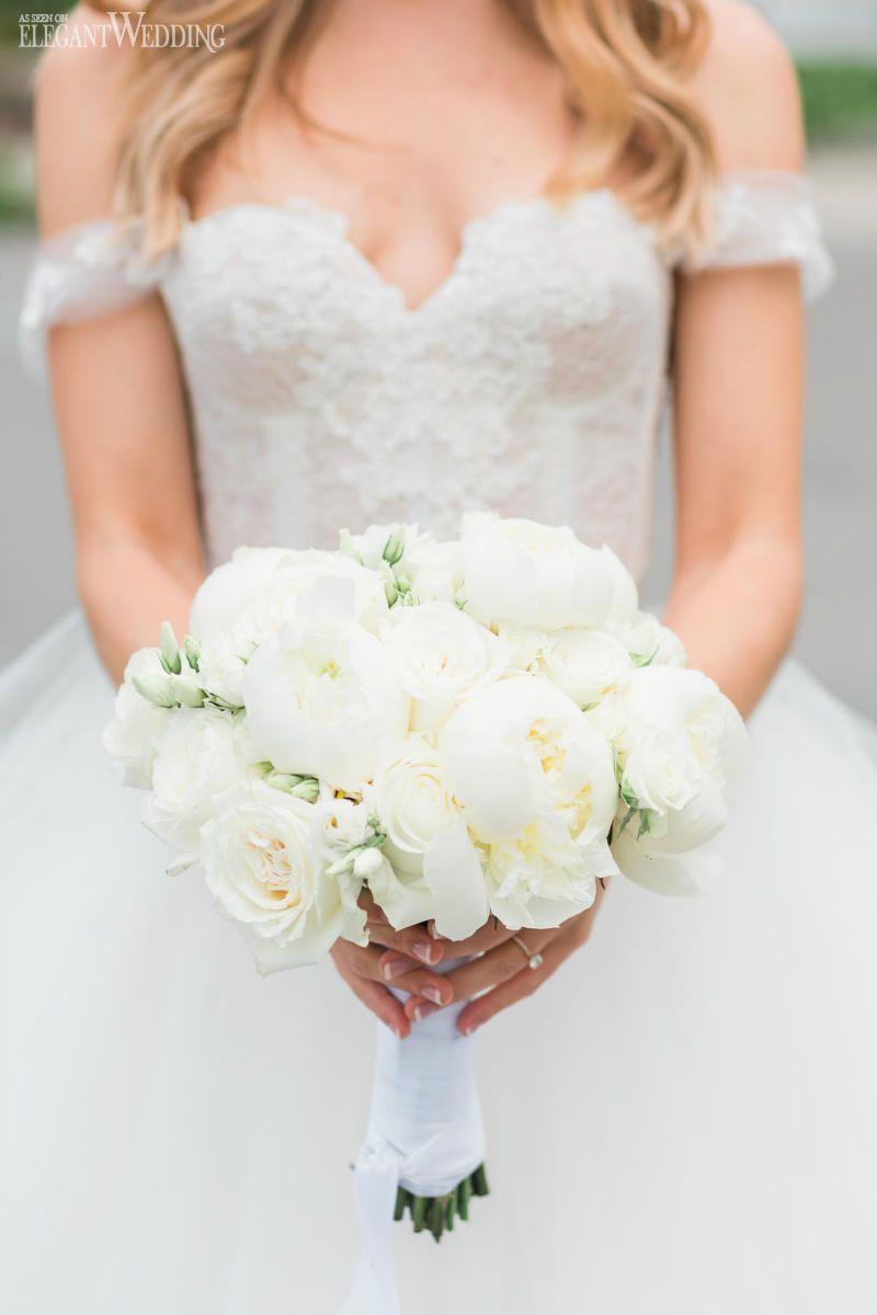 Classic & Romantic Wedding with Shades of White | ElegantWedding.ca