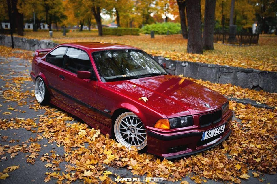 Fantastic Calypso Rot Bmw E36 Coupe On Bbs Lm Wheels Bmw Bmw E36 Bmw Wheels