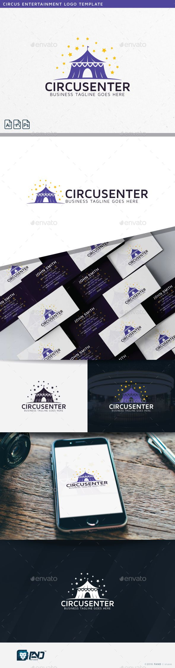 Circus Entertainment — Photoshop PSD #professional #stars • Available here → https://graphicriver.net/item/circus-entertainment/14810289?ref=pxcr