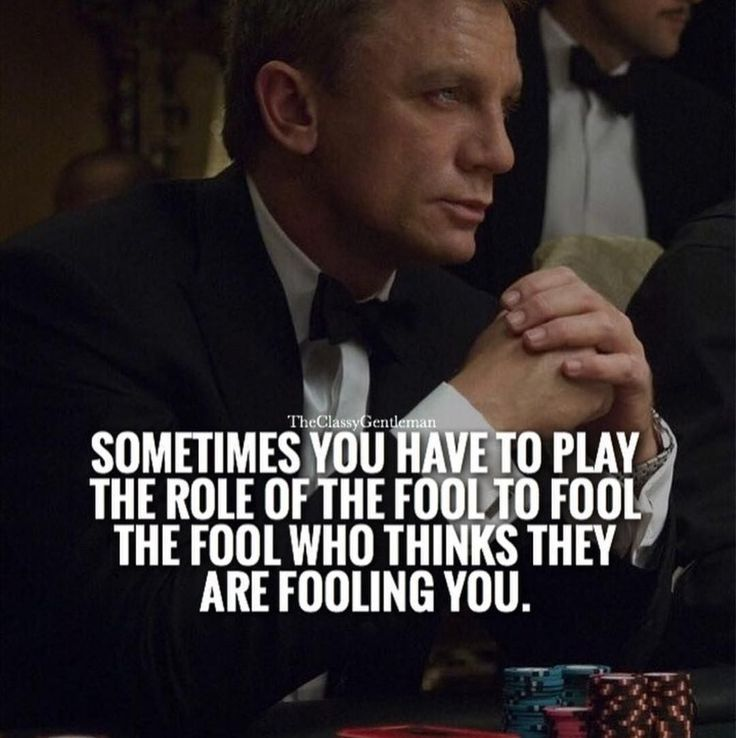 Sometimes you have to play the role of the fool to fool the fool who thinks they are fooling you! | #1stInHealth #Motivation #Quotes #Inspiration #Success