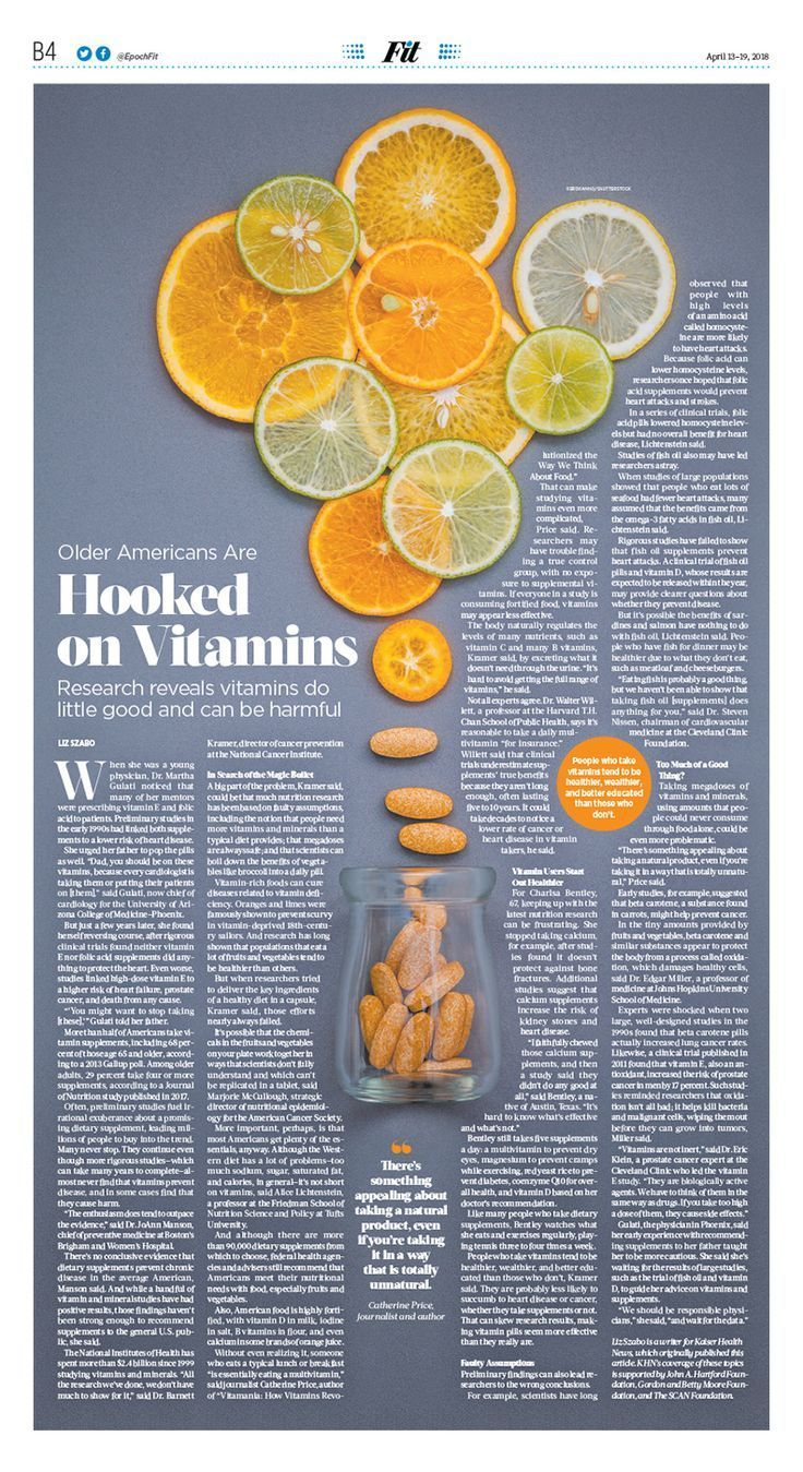 Older Americans Are Hooked on Vitamins|The Epoch Times #Health #newspaper #edi...,Older Ameri...