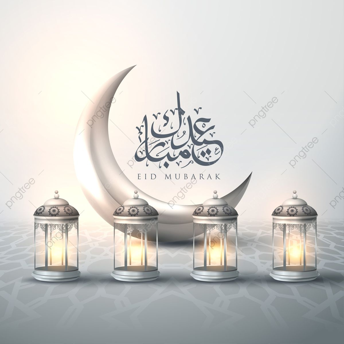 Greeting Card Template Islamic Vector Design For Eid Mubarak Eid Mubarak Card Calligraphy Arabic Png And Vector With Transparent Background For Free Download Eid Mubarak Greeting Cards Eid Mubarak Greetings Eid