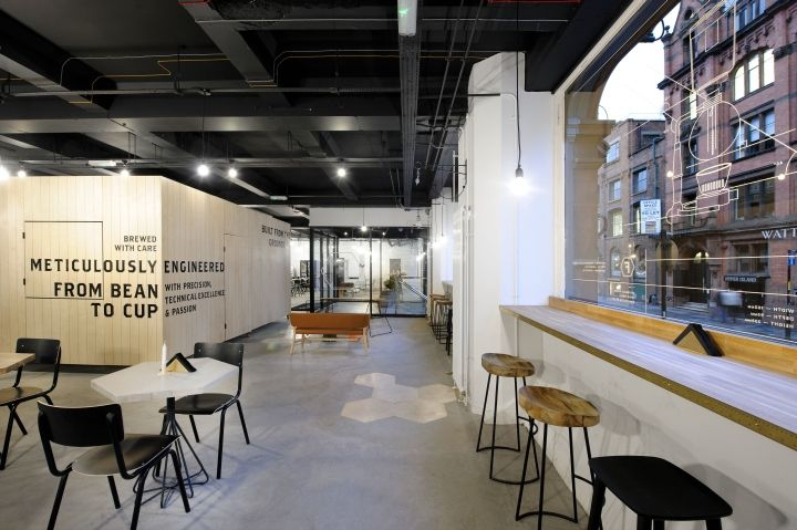 Interior Architecture Foundation Coffee House By NoChintz Manchester UK